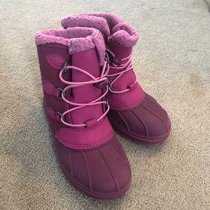 Girls Crocs Snow Boots
